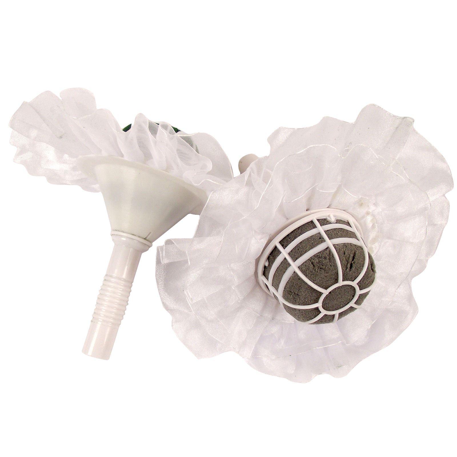 Foam bouquet holders with frills oasis wedding belle sec fresh picture 2 of 3 izmirmasajfo