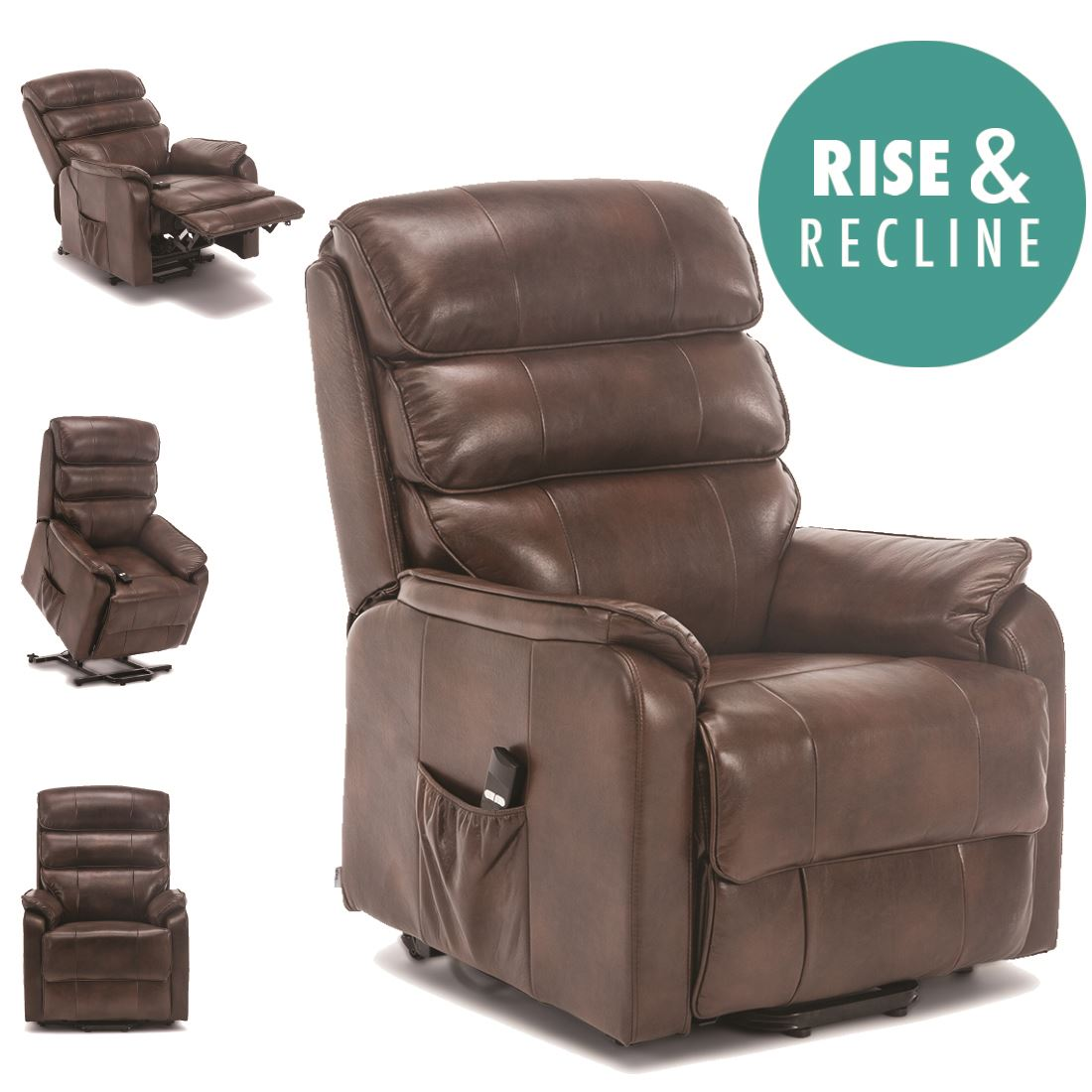 BUCKINGHAM-ELECTRIC-RISE-RECLINER-LEATHER-AIR-RISER-SOFA-  sc 1 st  eBay & BUCKINGHAM ELECTRIC RISE RECLINER LEATHER AIR RISER SOFA ARMCHAIR ... islam-shia.org