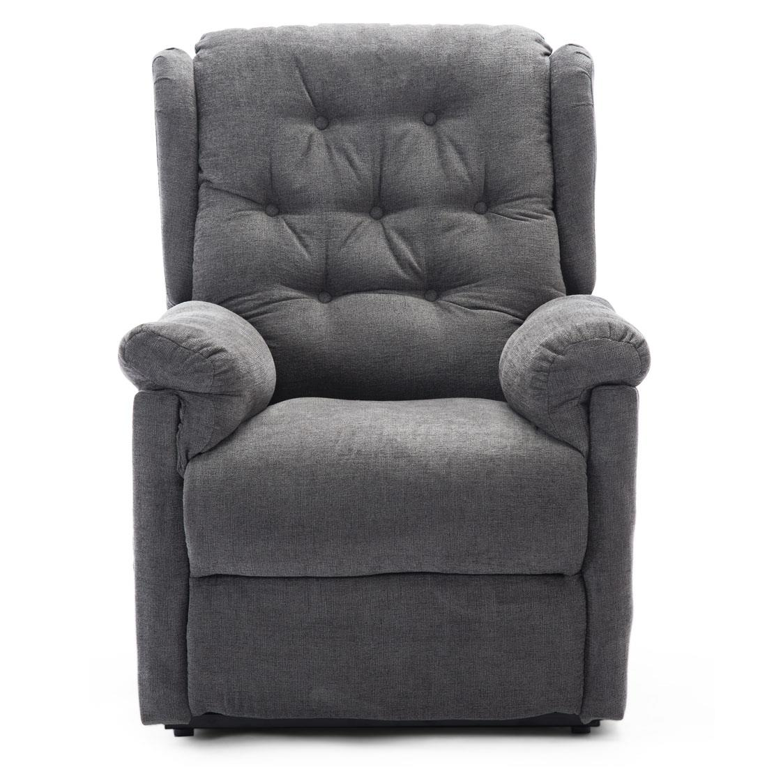 BARNSLEY FABRIC ELECTRIC RISE RISER RECLINER MOBILITY SOFA ...