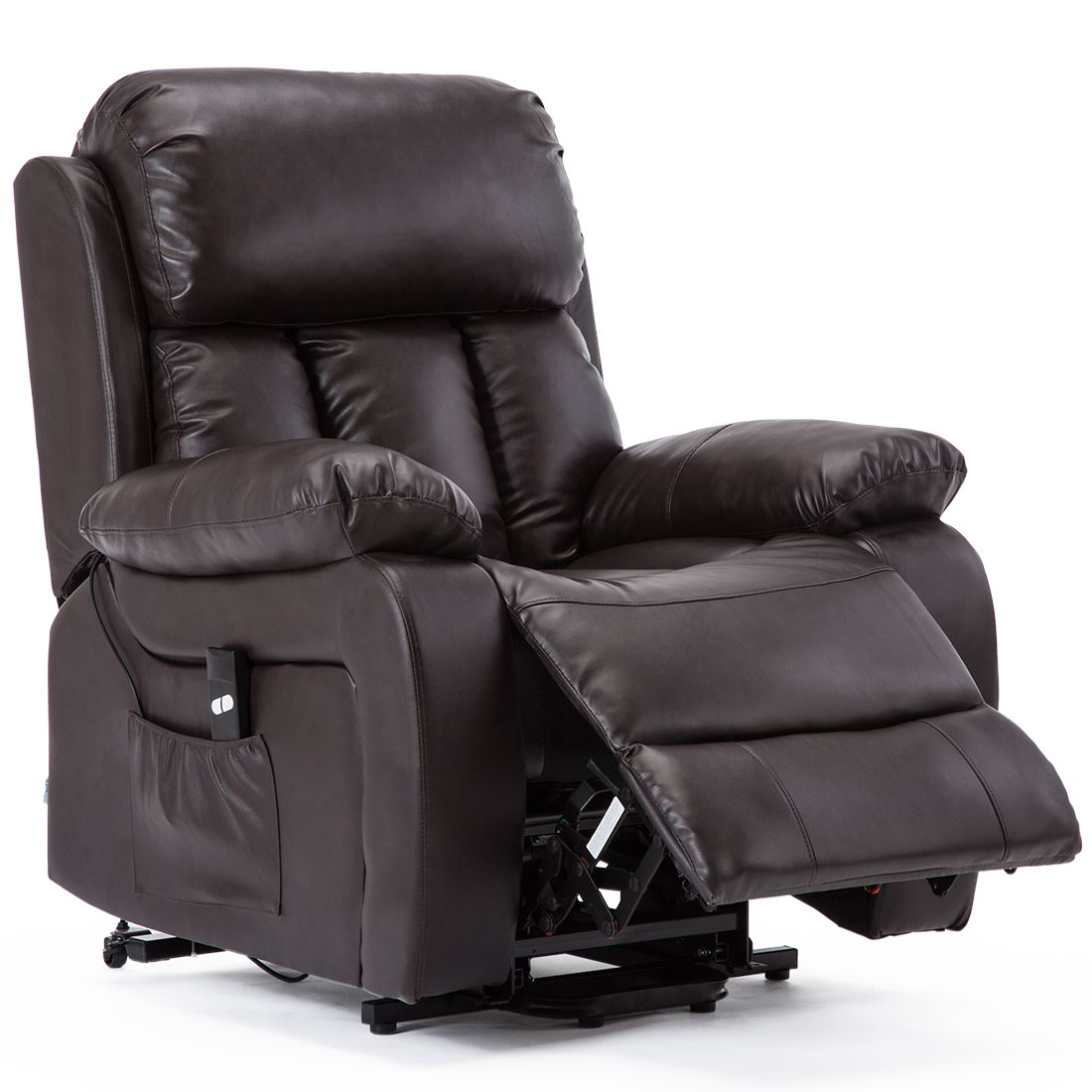 CHESTER-ELECTRIC-RISE-LEATHER-RECLINER-POWER-ARMCHAIR-HEATED-MASSAGE-SOFA-CHAIR thumbnail 12