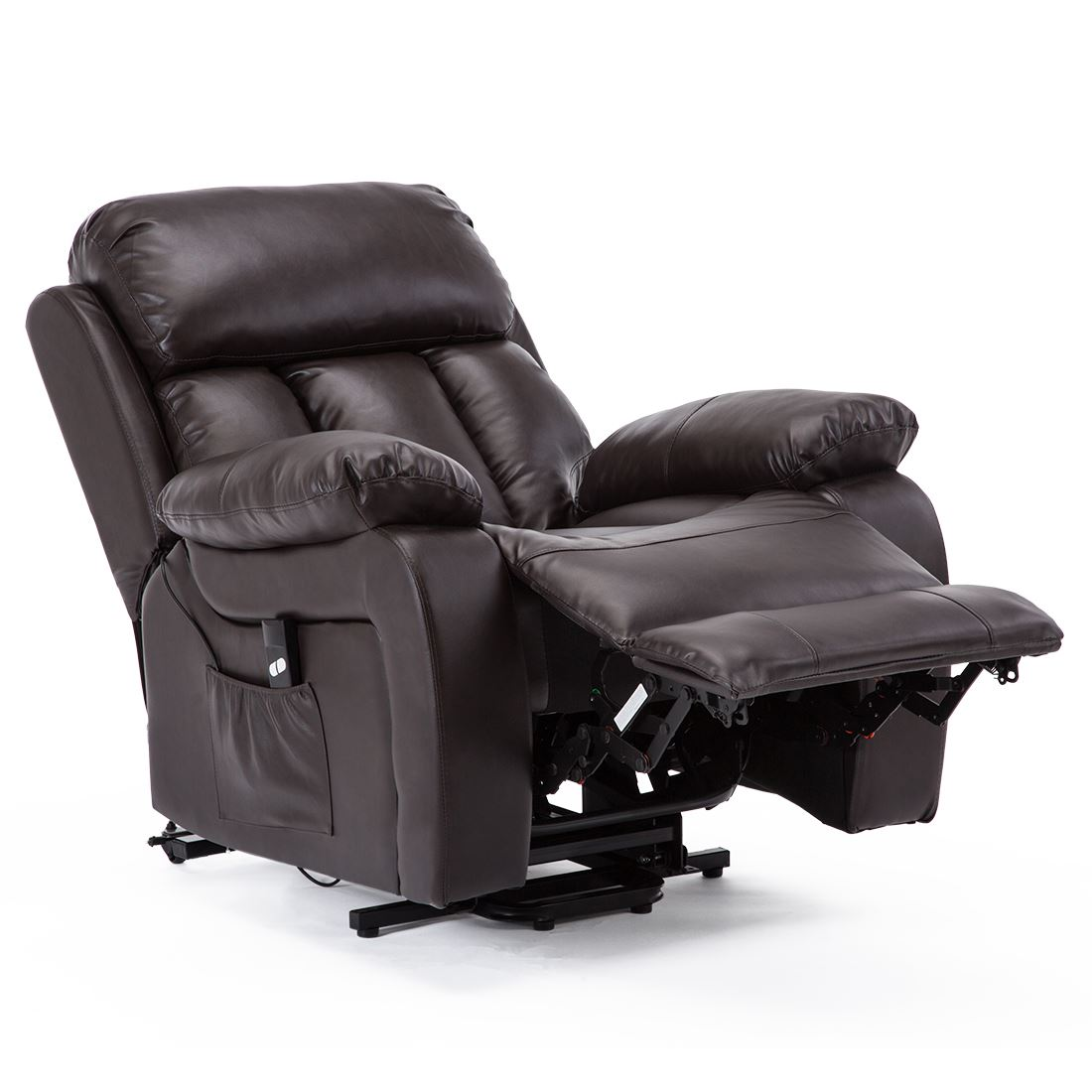 CHESTER-ELECTRIC-RISE-LEATHER-RECLINER-POWER-ARMCHAIR-HEATED-MASSAGE-SOFA-CHAIR thumbnail 13