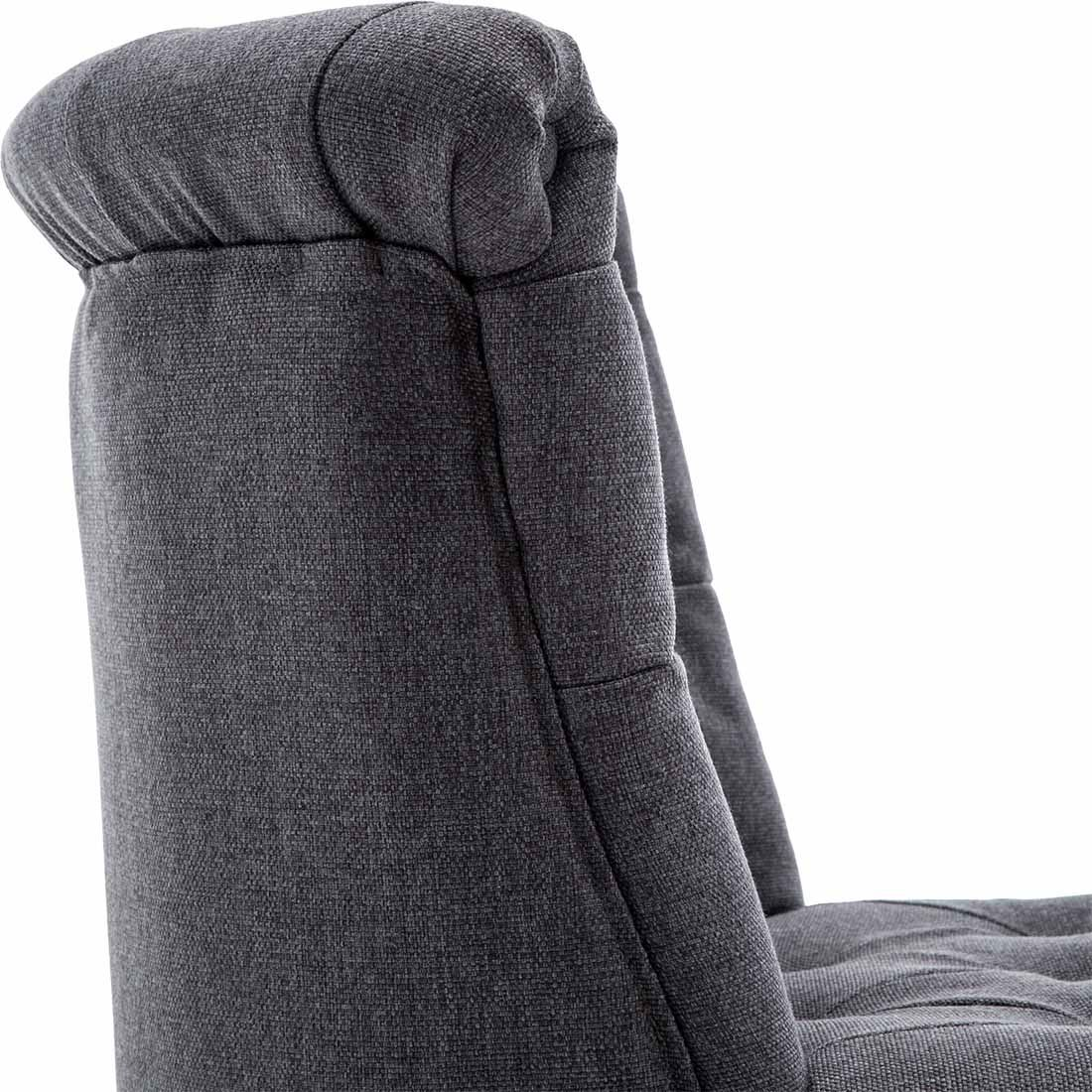 Keela-Velvet-Linen-Button-Back-Occasional-Accent-Bedroom-Lounge-Chair-Tub-Fabric thumbnail 11