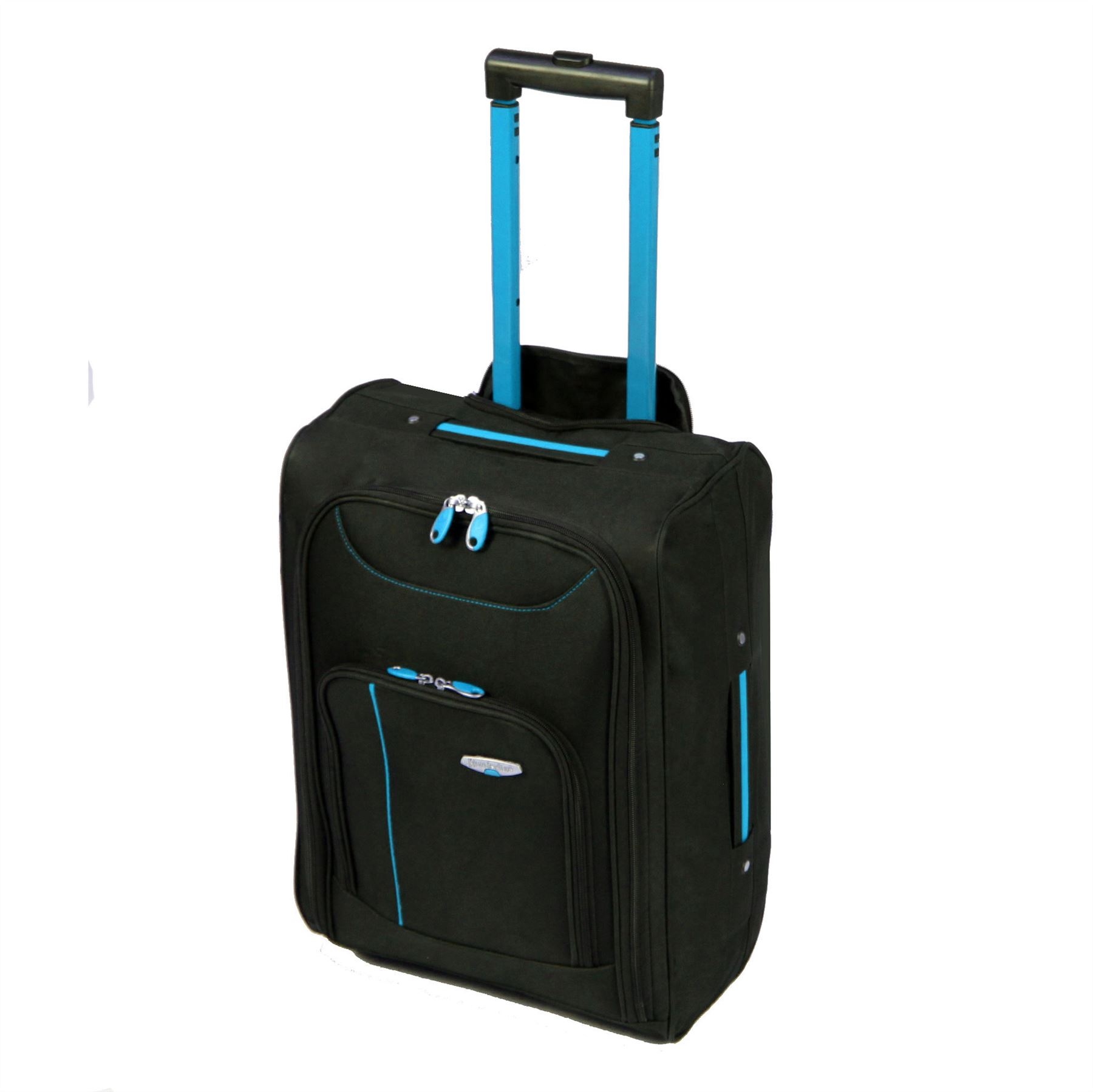 lightweight cabin approved luggage trolley holdall flight. Black Bedroom Furniture Sets. Home Design Ideas