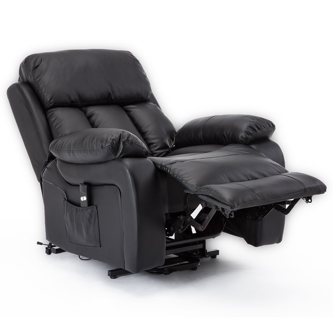 CHESTER-ELECTRIC-RISE-LEATHER-RECLINER-POWER-ARMCHAIR-HEATED-MASSAGE-SOFA-CHAIR thumbnail 7
