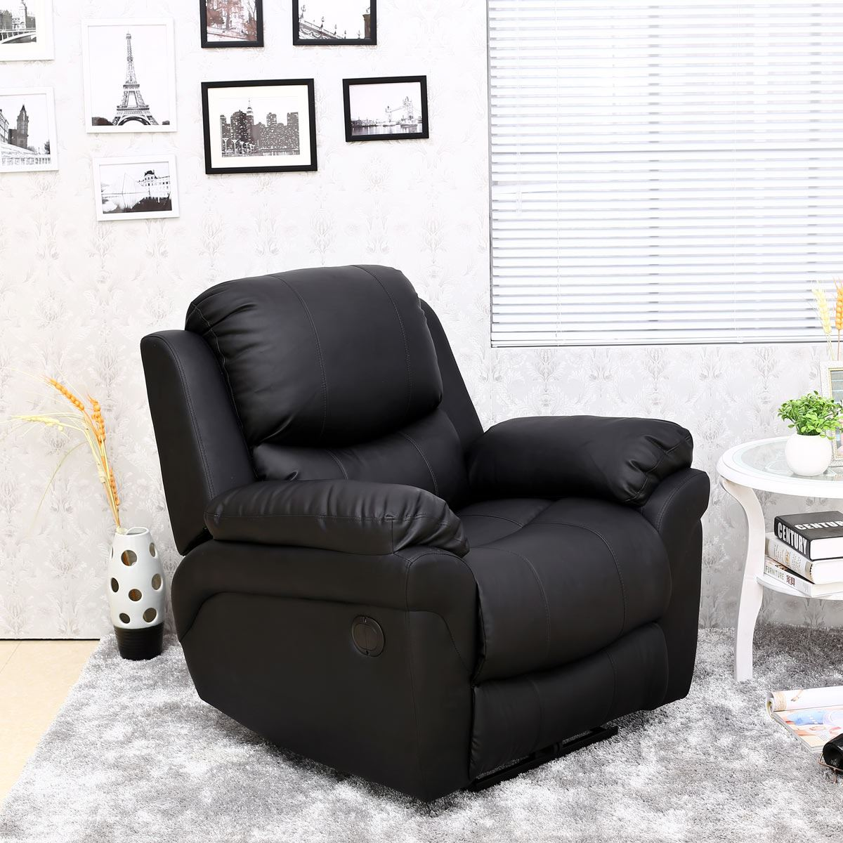 MADISON-ELECTRIC-LEATHER-AUTO-RECLINER-ARMCHAIR-SOFA-HOME- & MADISON ELECTRIC LEATHER AUTO RECLINER ARMCHAIR SOFA HOME LOUNGE ... islam-shia.org
