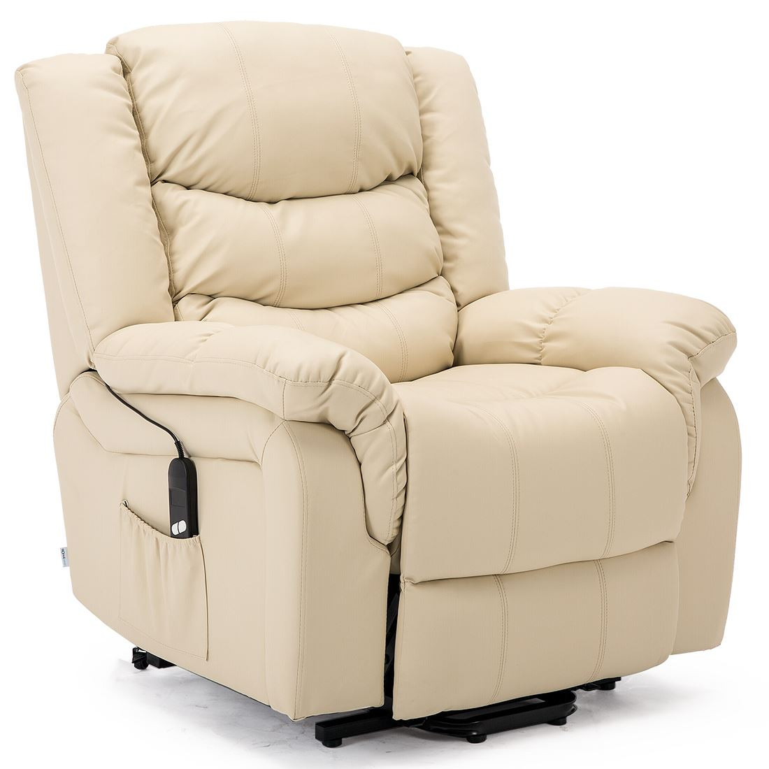 SEATTLE-ELECTRIC-RISE-REAL-LEATHER-RECLINER-ARMCHAIR-SOFA-HOME-LOUNGE-CHAIR thumbnail 23