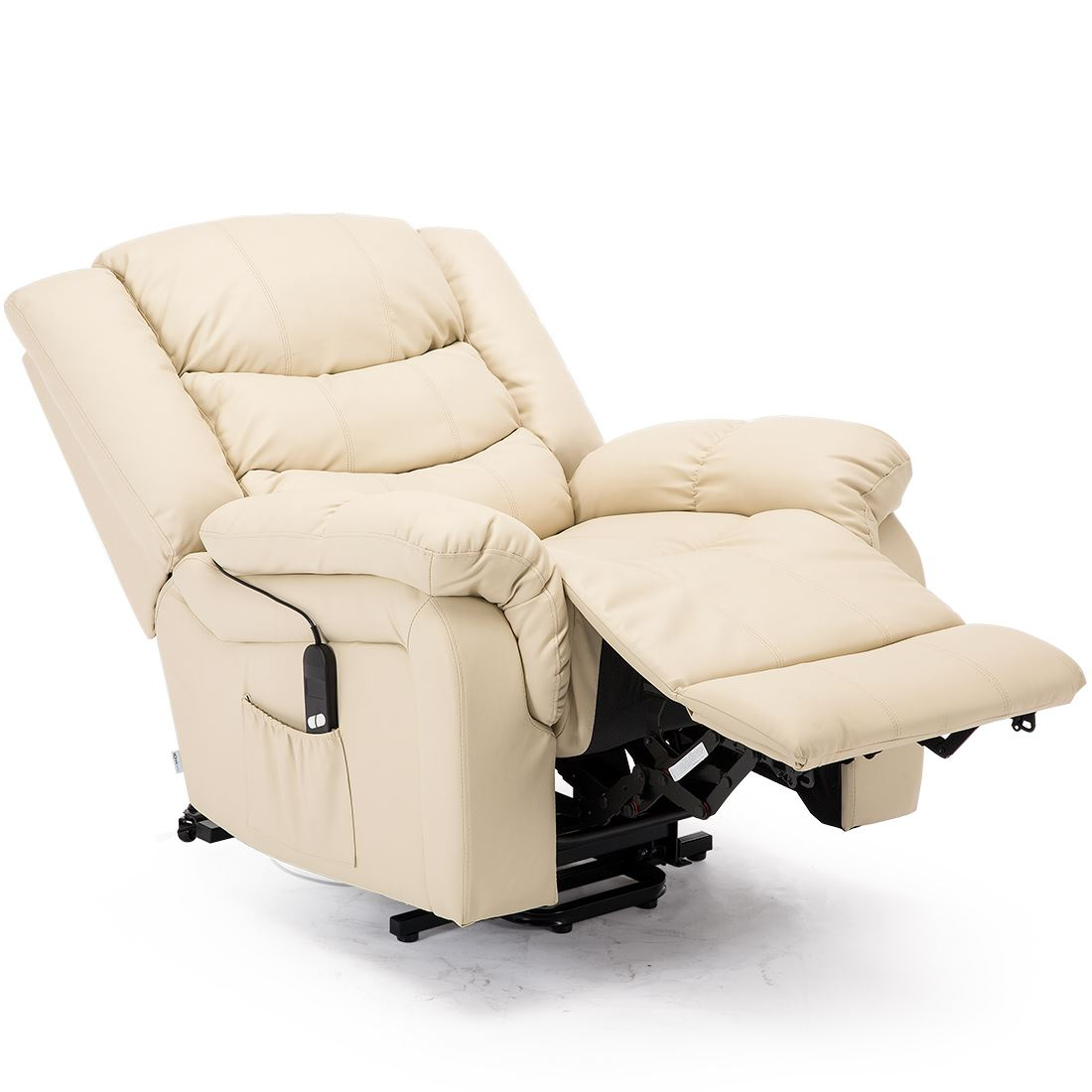 SEATTLE-ELECTRIC-RISE-REAL-LEATHER-RECLINER-ARMCHAIR-SOFA-HOME-LOUNGE-CHAIR thumbnail 25