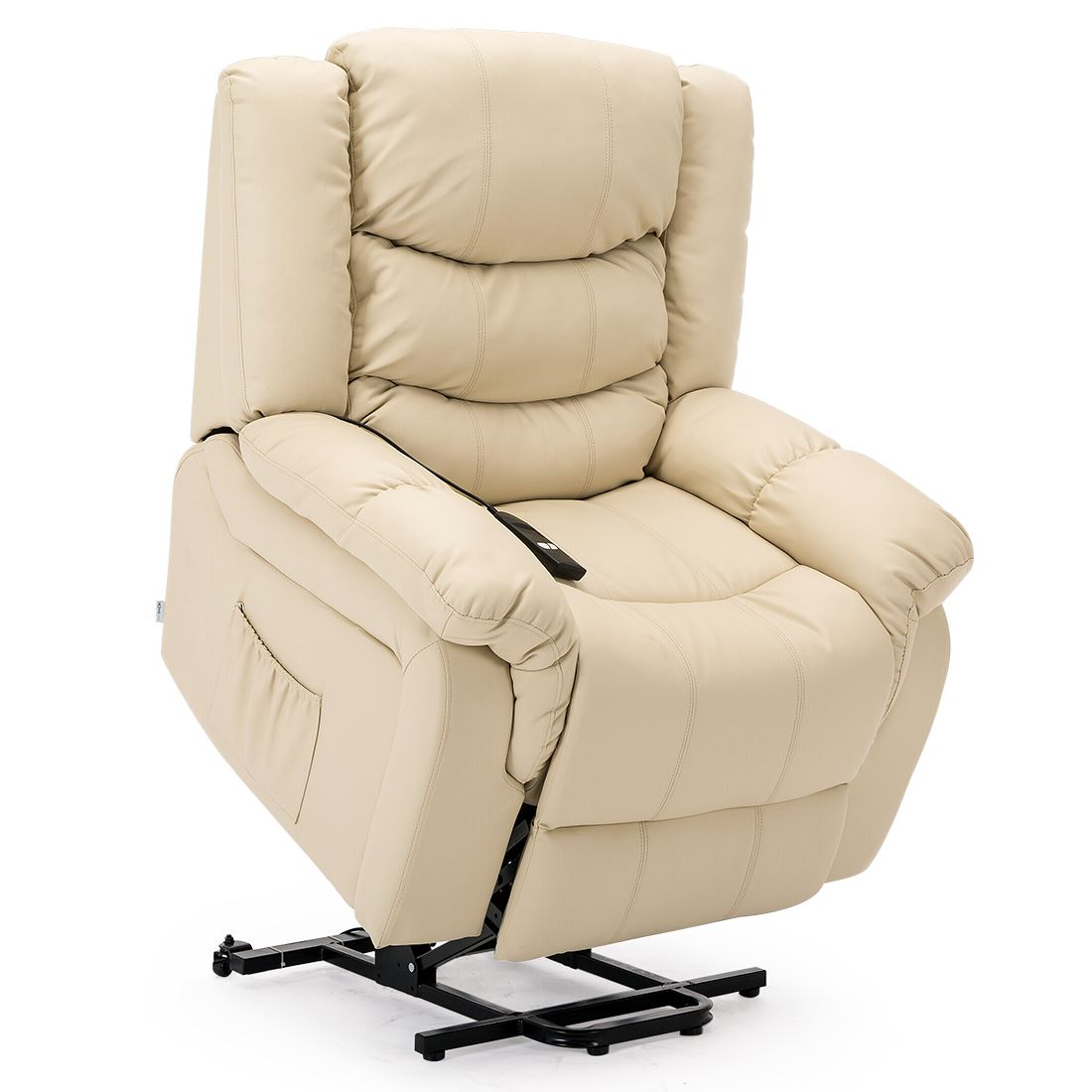 SEATTLE-ELECTRIC-RISE-REAL-LEATHER-RECLINER-ARMCHAIR-SOFA-HOME-LOUNGE-CHAIR thumbnail 27