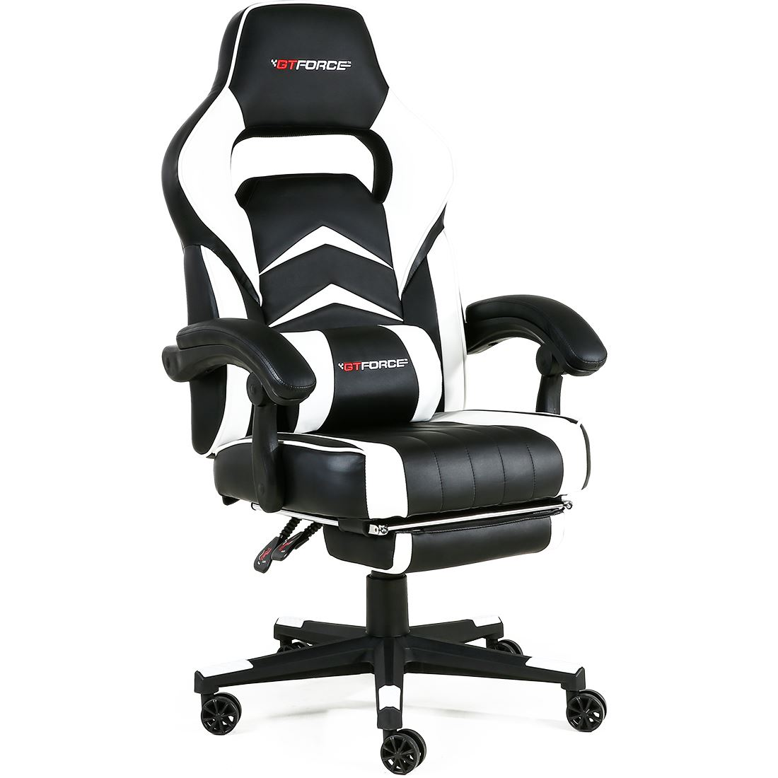 GTFORCE-TURBO-RECLINING-LEATHER-SPORTS-RACING-OFFICE-DESK-CHAIR-GAMING