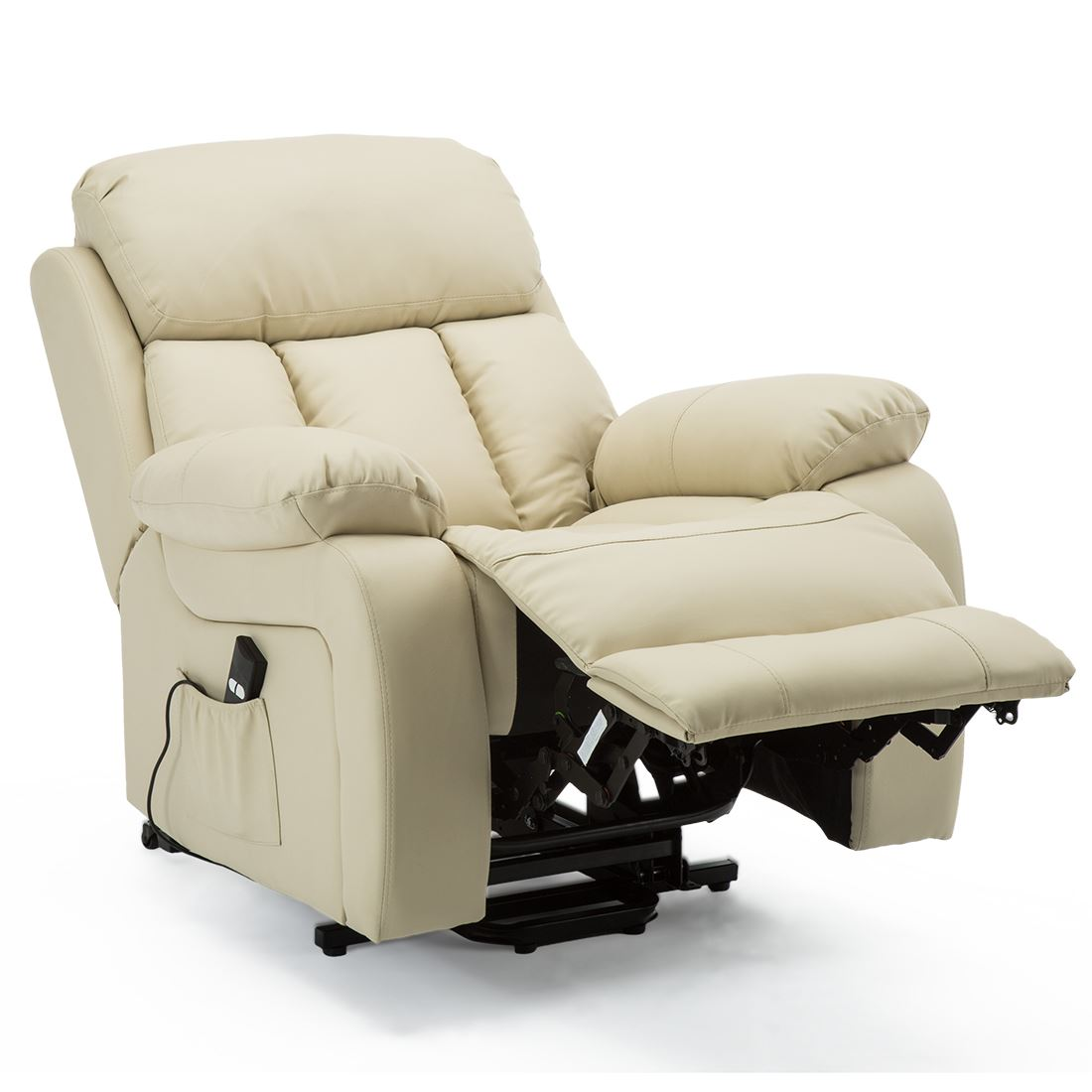 CHESTER-ELECTRIC-RISE-LEATHER-RECLINER-POWER-ARMCHAIR-HEATED-MASSAGE-SOFA-CHAIR thumbnail 23