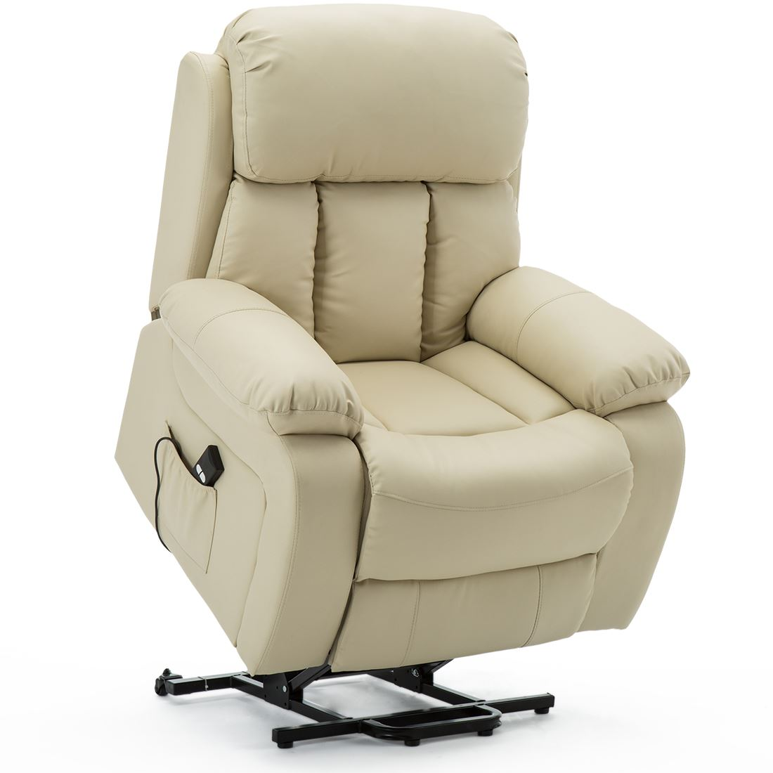 CHESTER-ELECTRIC-RISE-LEATHER-RECLINER-POWER-ARMCHAIR-HEATED-MASSAGE-SOFA-CHAIR thumbnail 24