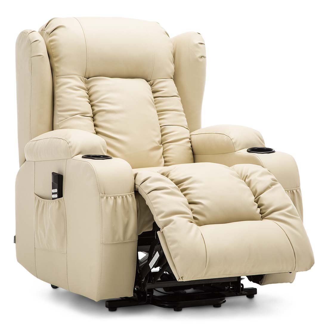 CAESAR-DUAL-MOTOR-RISER-RECLINER-LEATHER-MOBILITY-ARMCHAIR-MASSAGE-HEATED-CHAIR thumbnail 19