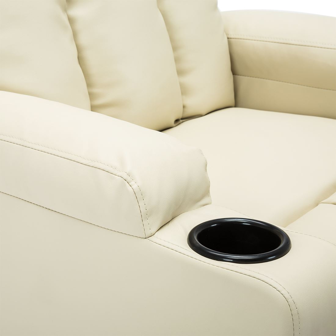 STUDIO-LEATHER-RECLINER-w-DRINK-HOLDERS-ARMCHAIR-SOFA-CHAIR-CINEMA-GAMING thumbnail 26
