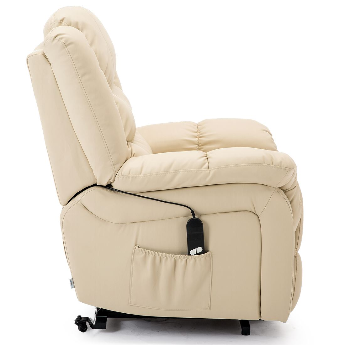 SEATTLE-ELECTRIC-RISE-REAL-LEATHER-RECLINER-ARMCHAIR-SOFA-HOME-LOUNGE-CHAIR thumbnail 26