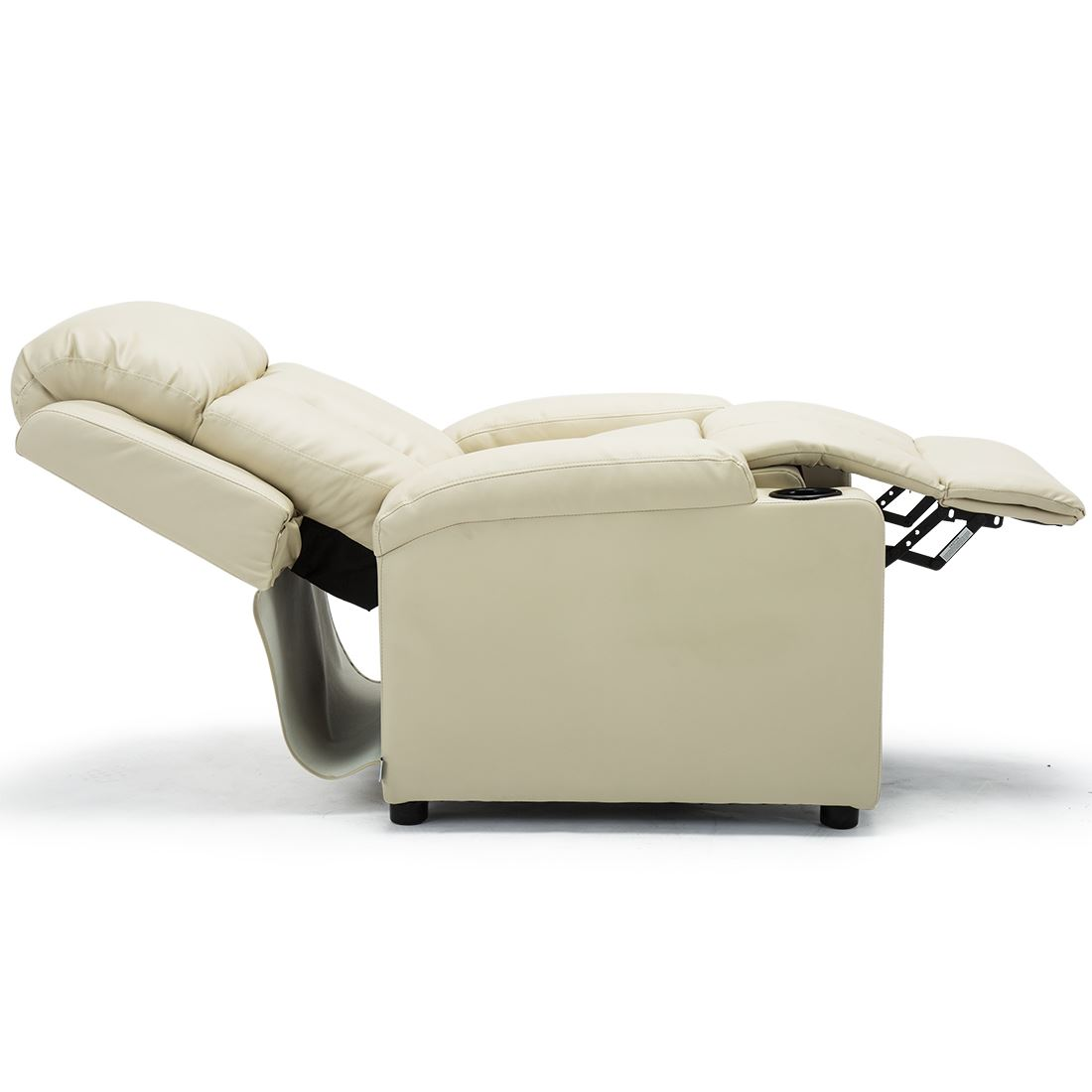 STUDIO-LEATHER-RECLINER-w-DRINK-HOLDERS-ARMCHAIR-SOFA-CHAIR-CINEMA-GAMING thumbnail 24