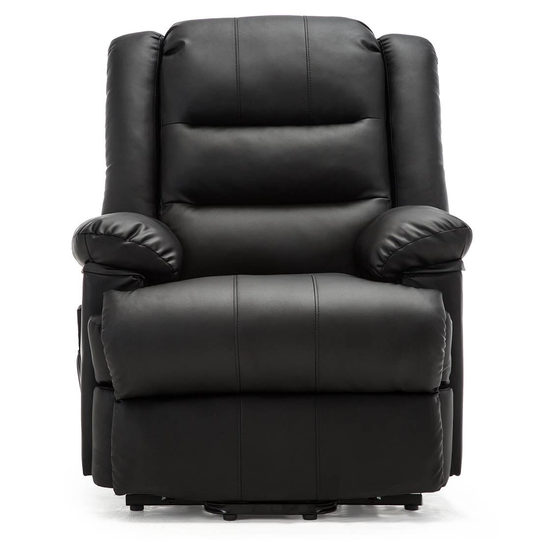 LOXLEY ELECTRIC RISE RECLINER ARMCHAIR BONDED LEATHER SOFA ...