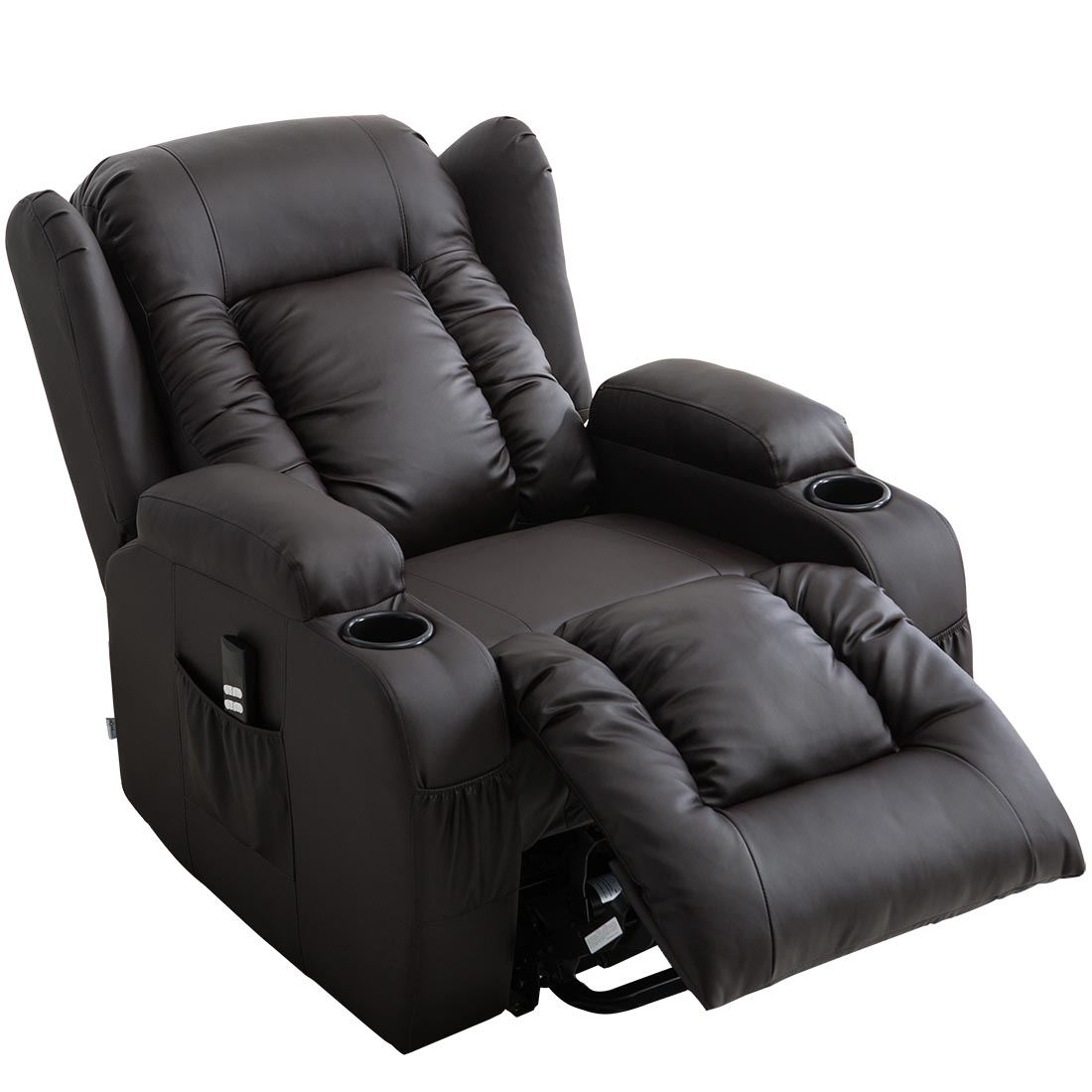 CAESAR-DUAL-MOTOR-RISER-RECLINER-LEATHER-MOBILITY-ARMCHAIR-MASSAGE-HEATED-CHAIR thumbnail 12
