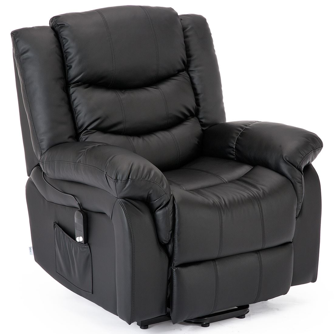 SEATTLE-ELECTRIC-RISE-REAL-LEATHER-RECLINER-ARMCHAIR-SOFA-HOME-LOUNGE-CHAIR thumbnail 5