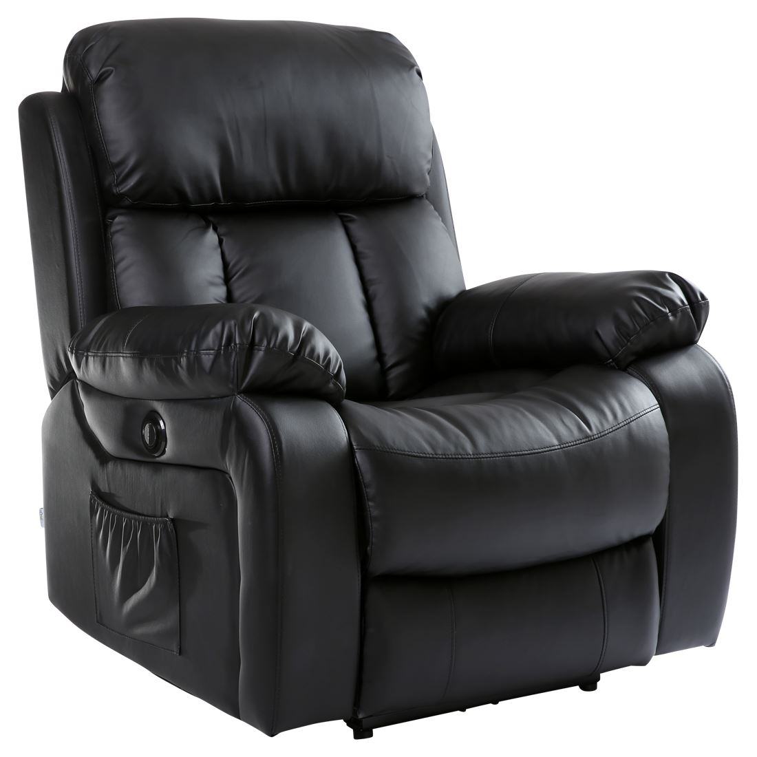 CHESTER-ELECTRIC-HEATED-LEATHER-MASSAGE-RECLINER-CHAIR-SOFA-  sc 1 st  eBay & CHESTER ELECTRIC HEATED LEATHER MASSAGE RECLINER CHAIR SOFA GAMING ... islam-shia.org