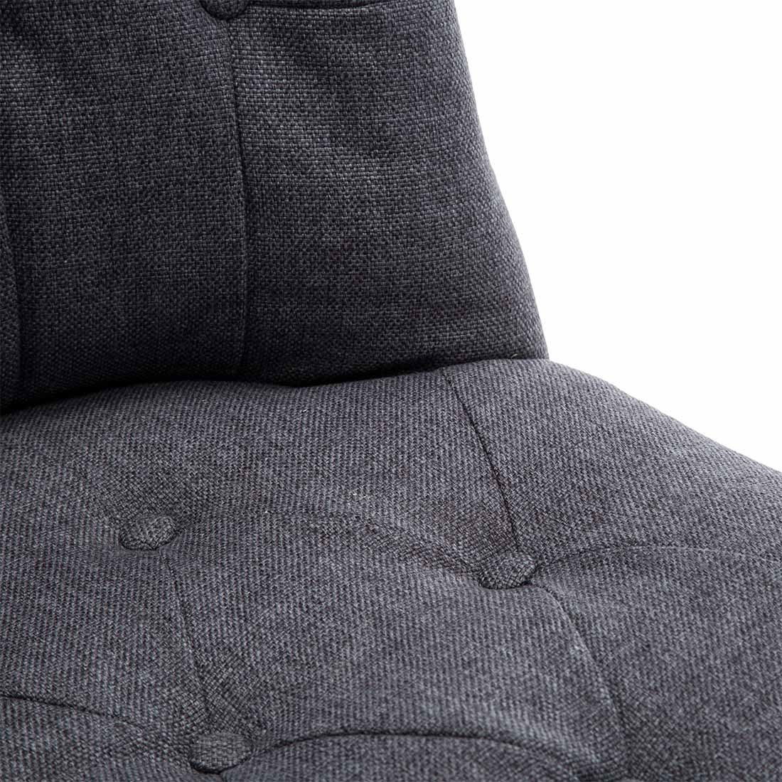 Keela-Velvet-Linen-Button-Back-Occasional-Accent-Bedroom-Lounge-Chair-Tub-Fabric thumbnail 12