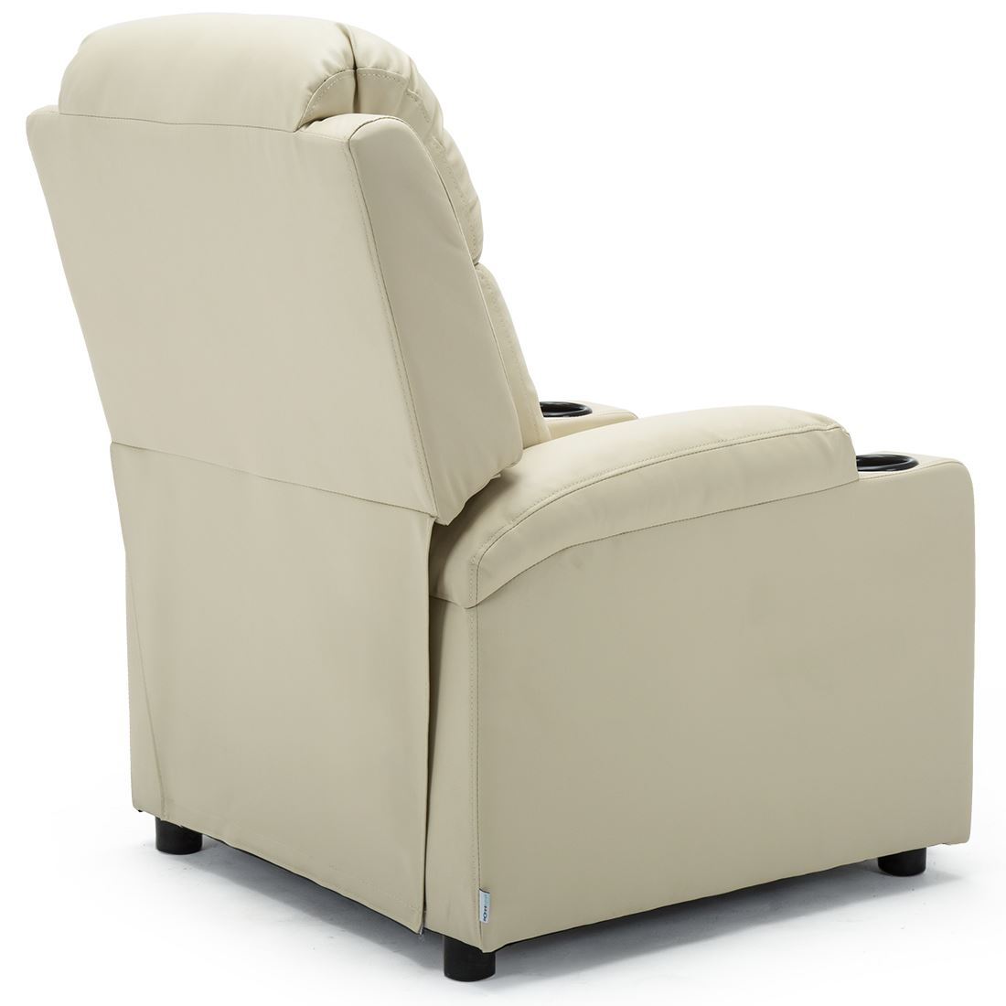 STUDIO-LEATHER-RECLINER-w-DRINK-HOLDERS-ARMCHAIR-SOFA-CHAIR-CINEMA-GAMING thumbnail 25