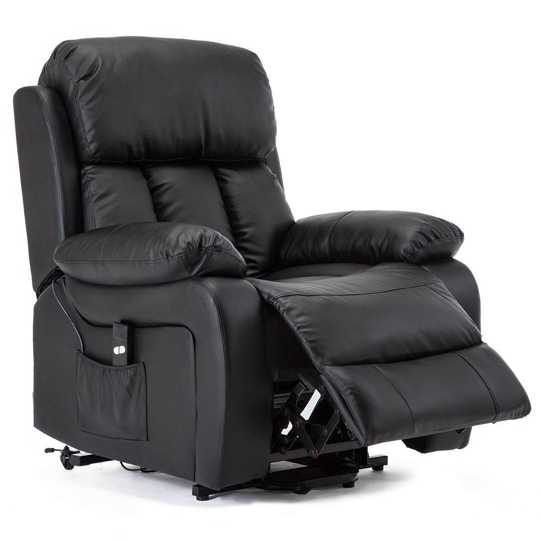 CHESTER-ELECTRIC-RISE-LEATHER-RECLINER-POWER-ARMCHAIR-HEATED-MASSAGE-SOFA-CHAIR thumbnail 6