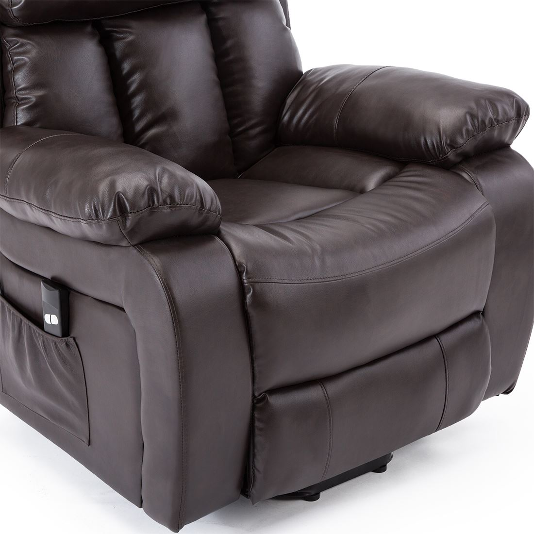 CHESTER-ELECTRIC-RISE-LEATHER-RECLINER-POWER-ARMCHAIR-HEATED-MASSAGE-SOFA-CHAIR thumbnail 17