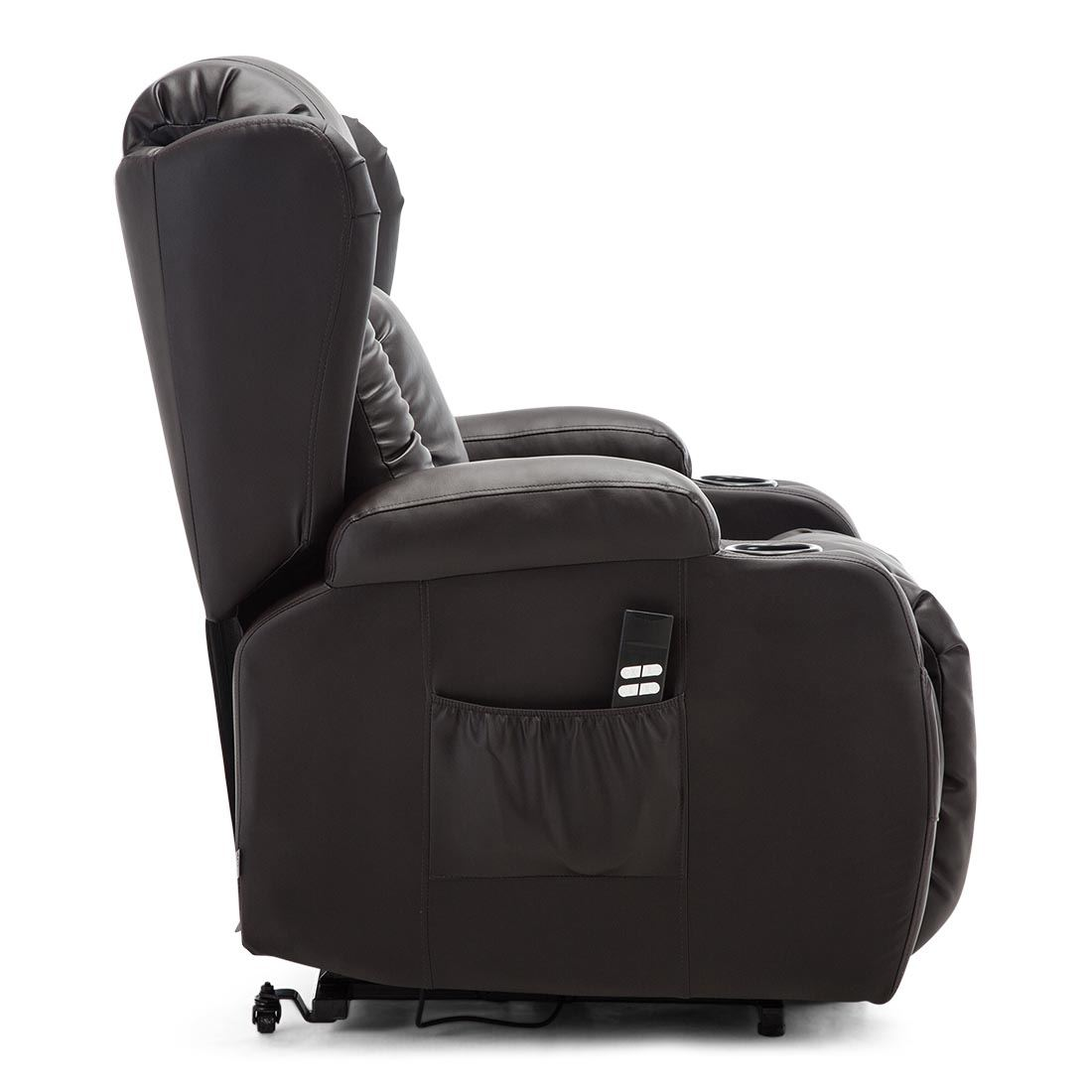CAESAR-DUAL-MOTOR-RISER-RECLINER-LEATHER-MOBILITY-ARMCHAIR-MASSAGE-HEATED-CHAIR thumbnail 13