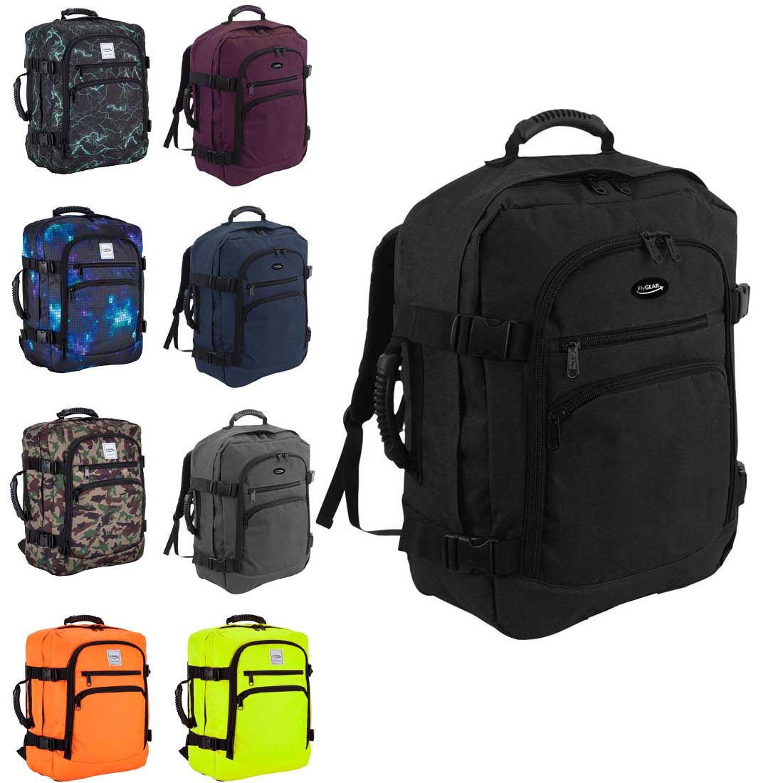 Flygear Cabin Hand Luggage Flight Backpack Rucksack Travel Holall