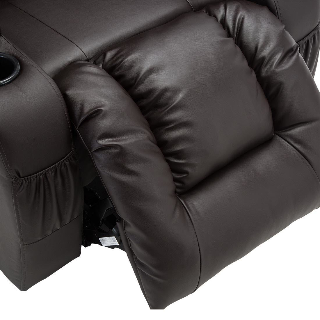 CAESAR-DUAL-MOTOR-RISER-RECLINER-LEATHER-MOBILITY-ARMCHAIR-MASSAGE-HEATED-CHAIR thumbnail 14