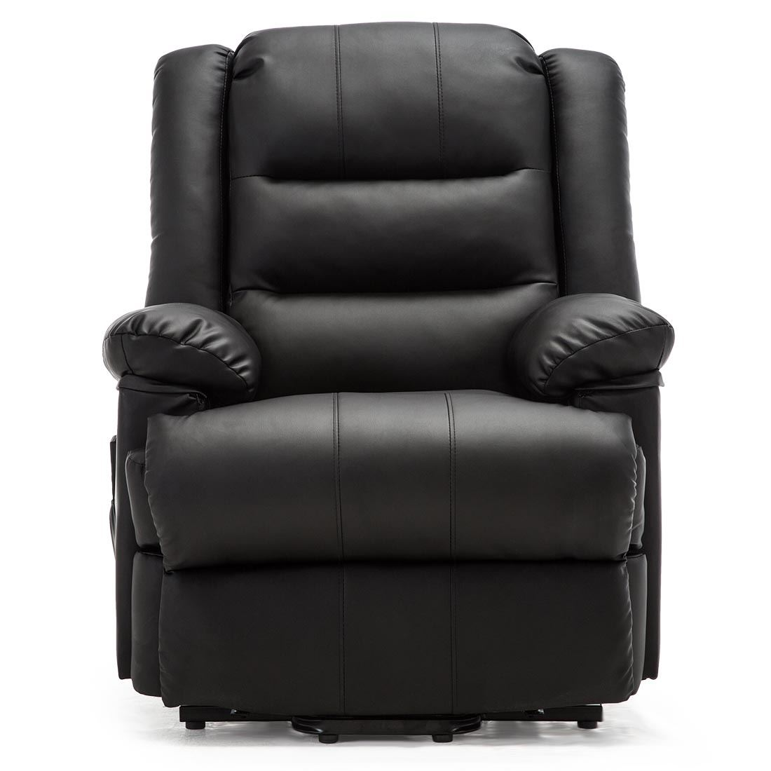 Loxley Dual Motor Electric Riser Recliner Bonded Leather
