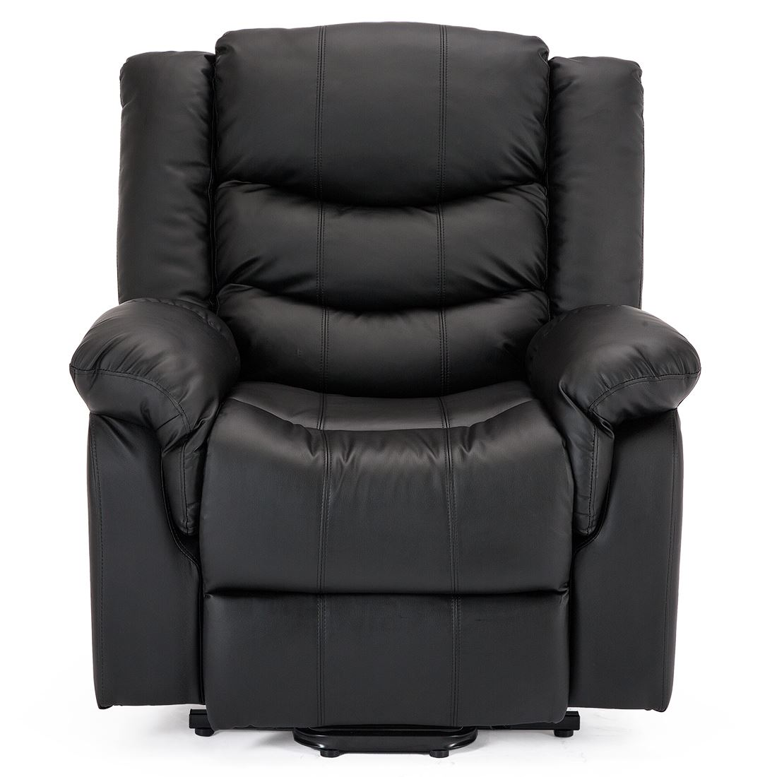 SEATTLE-ELECTRIC-RISE-REAL-LEATHER-RECLINER-ARMCHAIR-SOFA-HOME-LOUNGE-CHAIR thumbnail 4