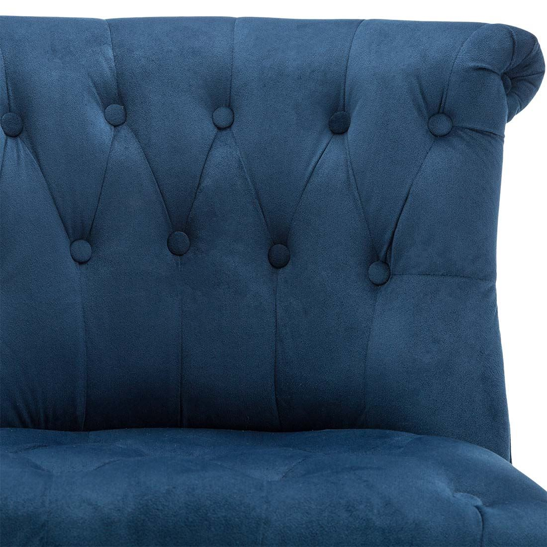 Keela-Velvet-Linen-Button-Back-Occasional-Accent-Bedroom-Lounge-Chair-Tub-Fabric thumbnail 32