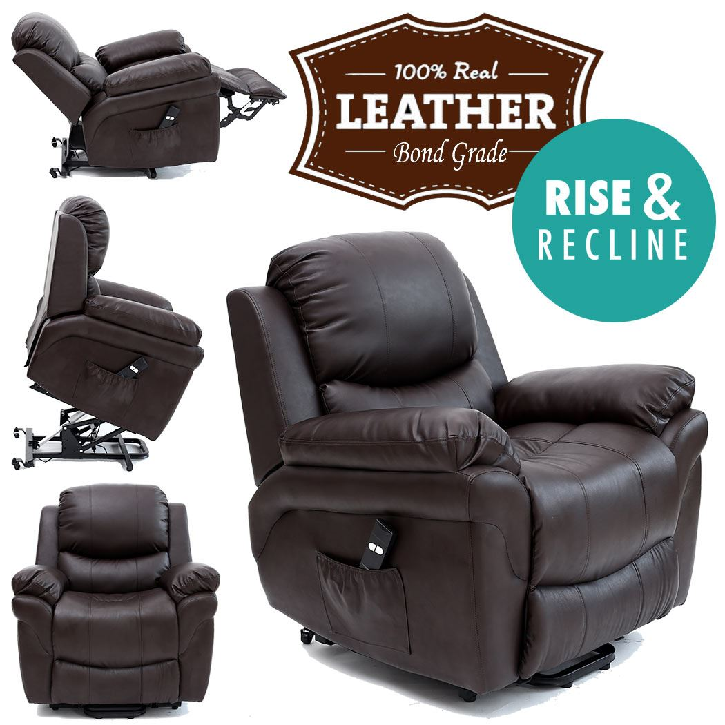 MADISON-ELECRTIC-RISE-RECLINER-LEATHER-ARMCHAIR-SOFA-HOME-LOUNGE-CHAIR