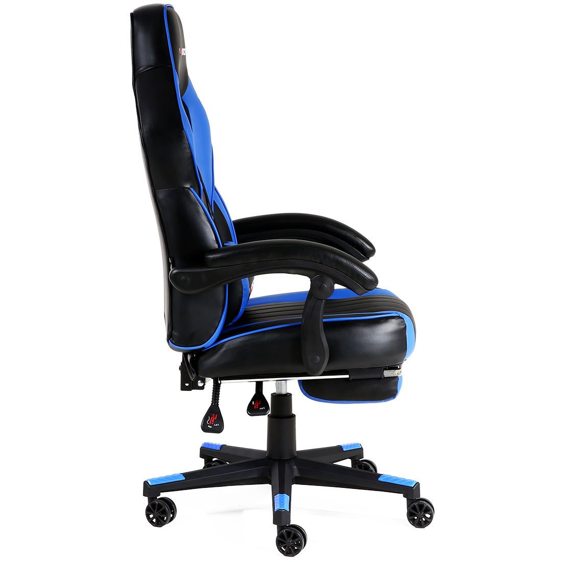 GTFORCE TURBO RECLINING LEATHER SPORTS RACING OFFICE DESK