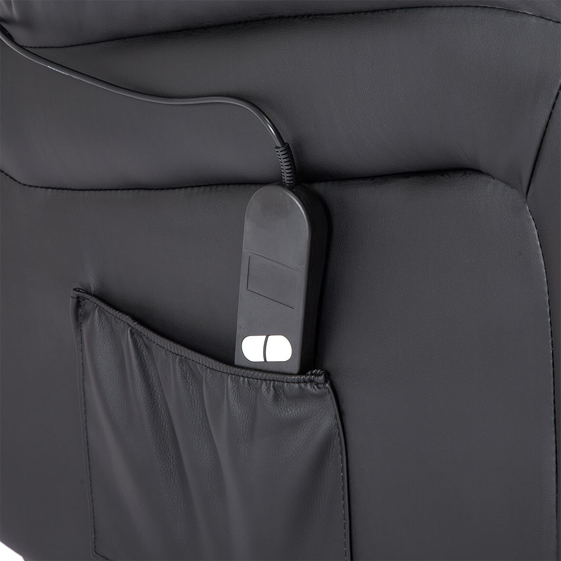 SEATTLE-ELECTRIC-RISE-REAL-LEATHER-RECLINER-ARMCHAIR-SOFA-HOME-LOUNGE-CHAIR thumbnail 9
