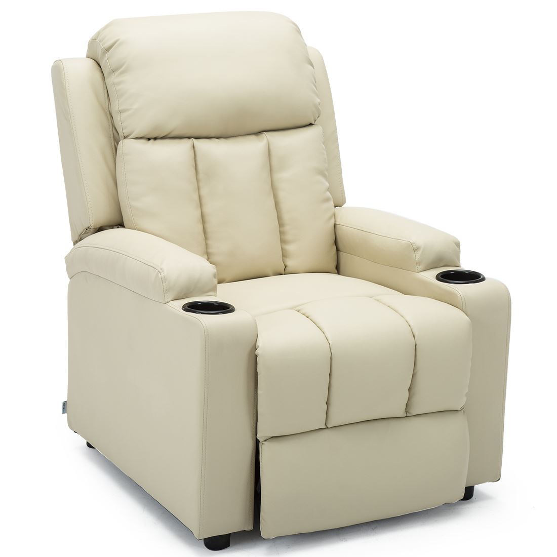 STUDIO-LEATHER-RECLINER-w-DRINK-HOLDERS-ARMCHAIR-SOFA-CHAIR-CINEMA-GAMING thumbnail 22