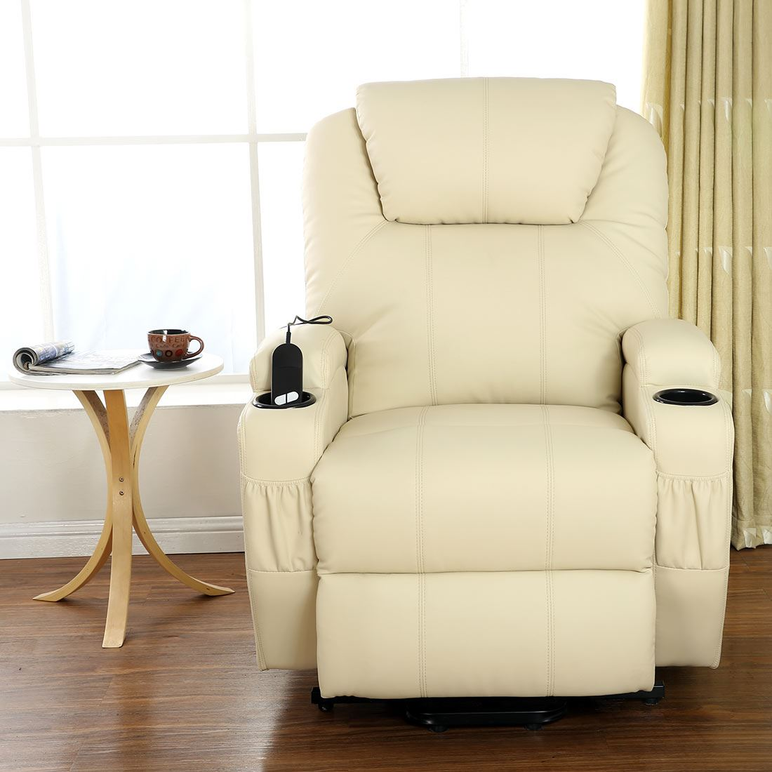 CINEMO-ELECRTIC-RISE-RECLINER-LEATHER-MASSEAGE-HEAT-ARMCHAIR-SOFA-LOUNGE-CHAIR
