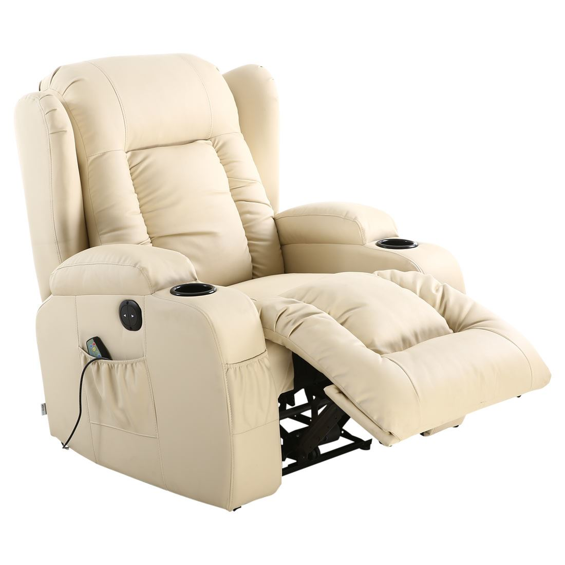 Caesar Electric Leather Auto Recliner Massage Heated