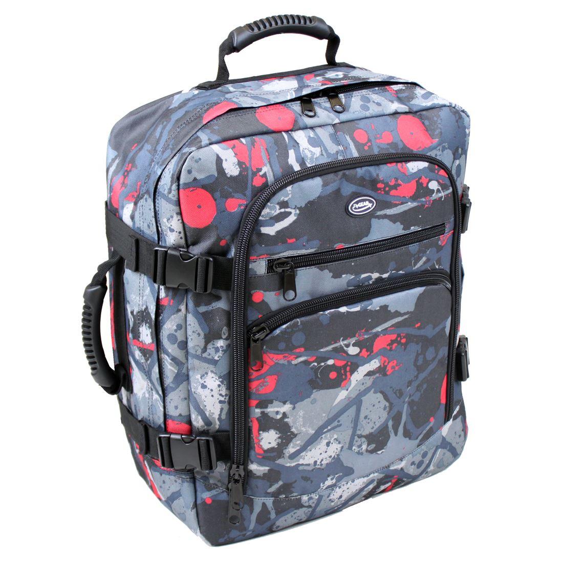 Cabin-Flight-Approved-Backpack-Hand-Luggage-Travel-Holdall-44-Litre-Bag-Rucksack
