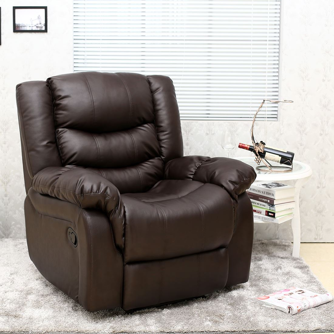 leather lounge armchair seattle leather recliner armchair sofa home lounge chair 16659 | d507aaba ce4c 4f80 a3e7 748fb12c7cd1