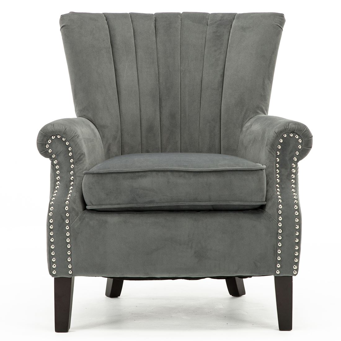 accent chairs for bedroom olenka velvet wing back occasional accent bedroom armchair 13990