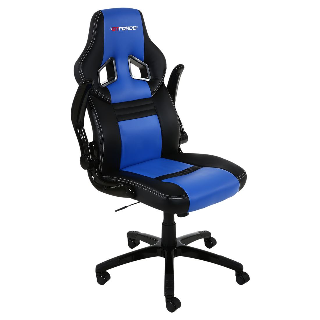 GTFORCE-SPRINT-LEATHER-GAMING-SPORT-RACING-CAR-OFFICE-CHAIR-PC-DESK-ADJUSTABLE
