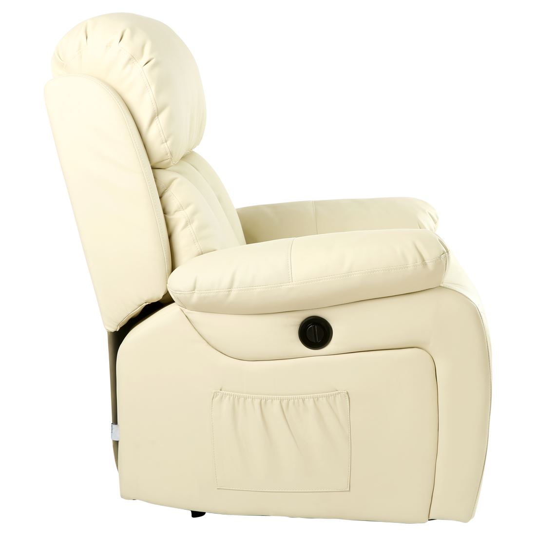 Chester Electric Heated Leather Massage Recliner Chair