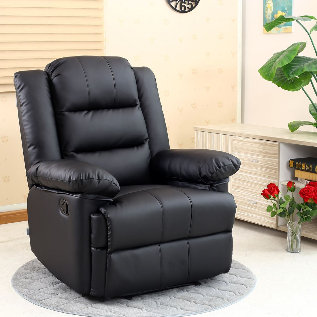 leather lounge armchair loxley leather recliner armchair sofa home lounge chair 16659 | e04d62bb 90e7 4358 87ee d4696e0d728e