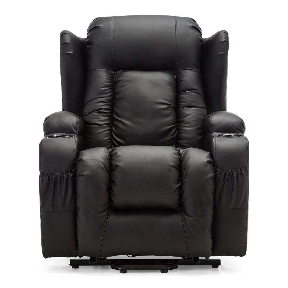 CAESAR-DUAL-MOTOR-RISER-RECLINER-LEATHER-MOBILITY-ARMCHAIR-MASSAGE-HEATED-CHAIR thumbnail 8