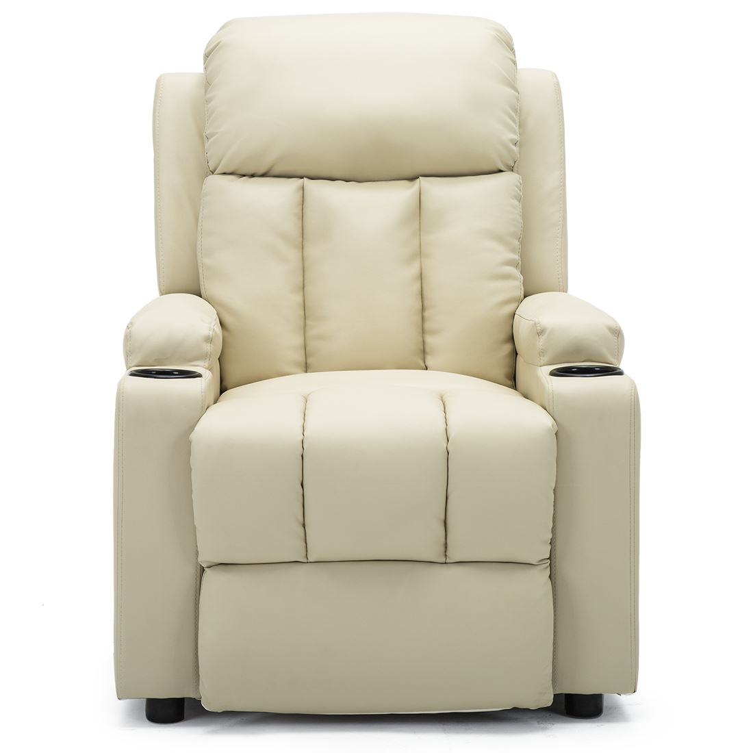 STUDIO-LEATHER-RECLINER-w-DRINK-HOLDERS-ARMCHAIR-SOFA-CHAIR-CINEMA-GAMING thumbnail 21