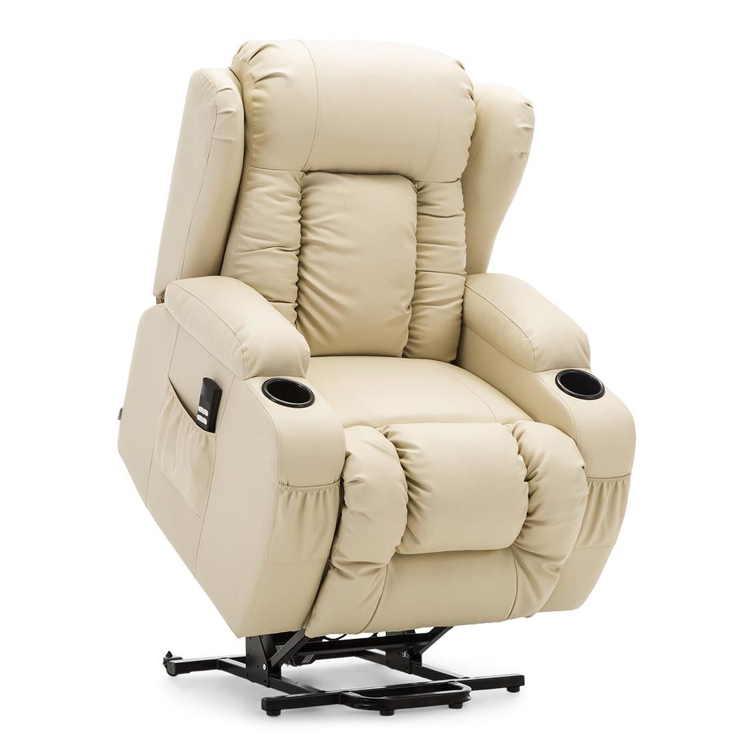 CAESAR-DUAL-MOTOR-RISER-RECLINER-LEATHER-MOBILITY-ARMCHAIR-MASSAGE-HEATED-CHAIR thumbnail 18