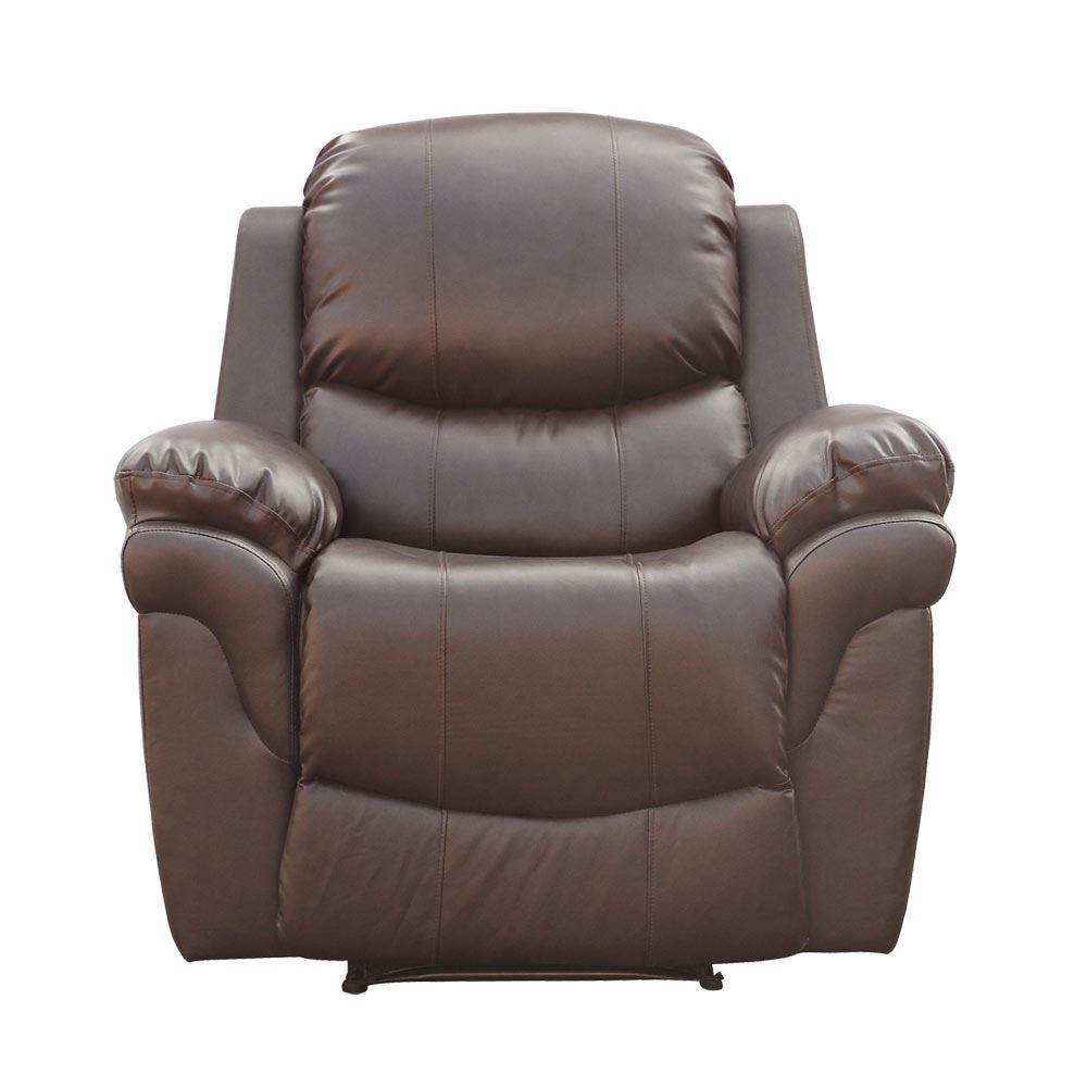 leather lounge armchair madison brown leather recliner armchair sofa home lounge 16659 | f08a3fae c3c9 45c6 9548 83be64c3de43