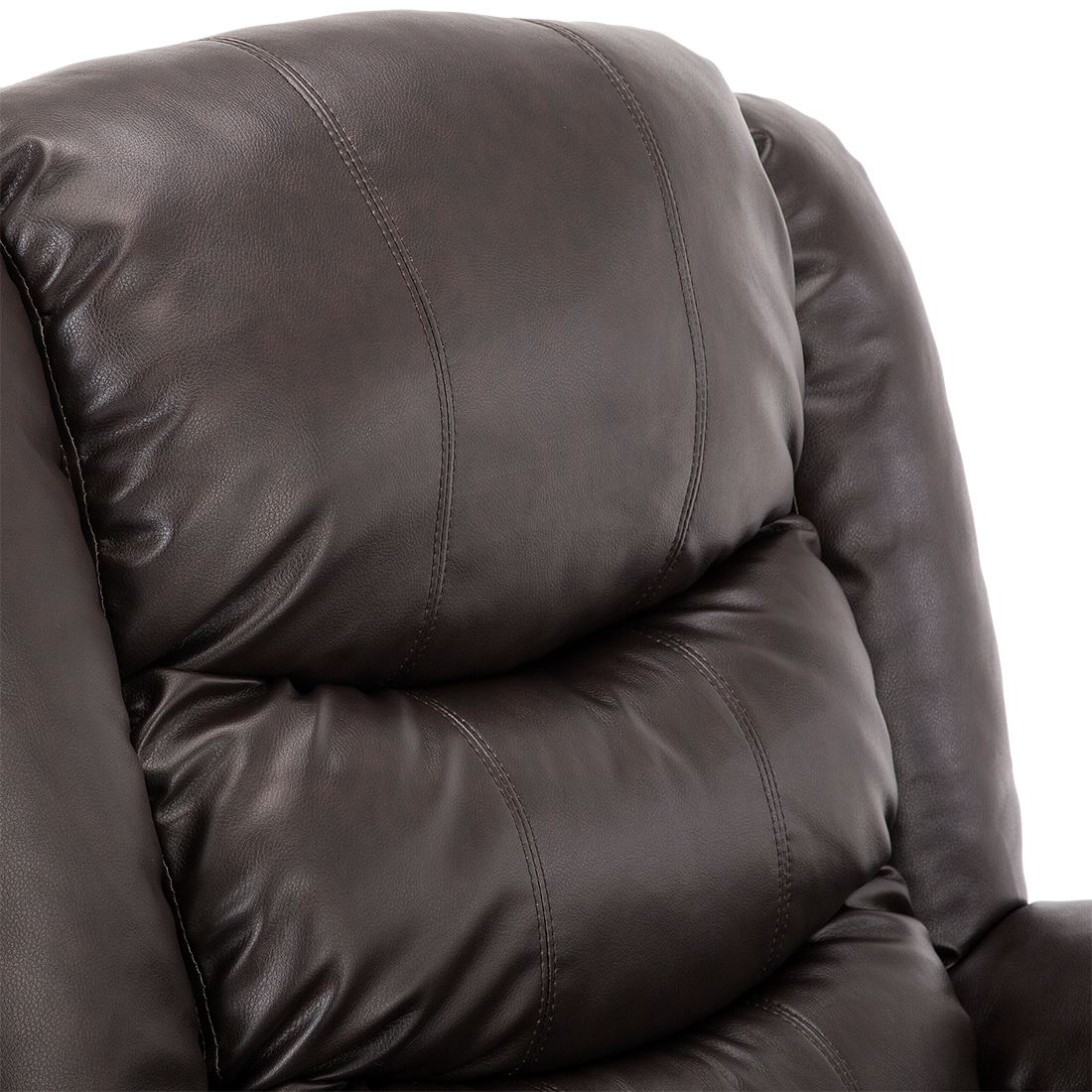 SEATTLE-ELECTRIC-RISE-REAL-LEATHER-RECLINER-ARMCHAIR-SOFA-HOME-LOUNGE-CHAIR thumbnail 18